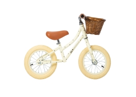 "Go First Push Bike 12"" BONTON X BANWOOD - Cream"