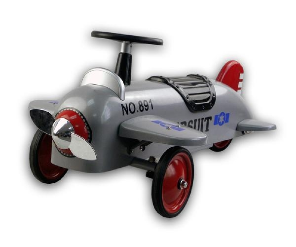 Toys - Protocol Silver Grey Plane Speedster