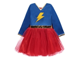 Super Hero ~Wonderwoman Costum with Cape~