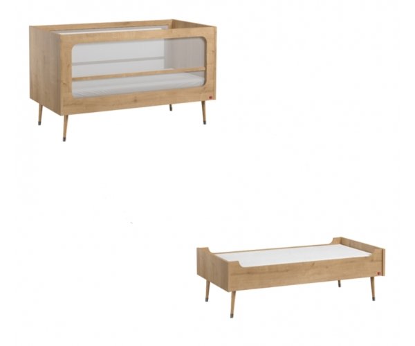 Baby Bed 70 x 140 cm - Bosque natural