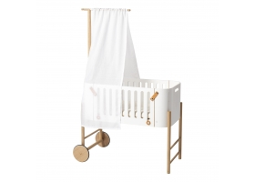Bed hanger for mobile and canopy White by Oliver Furniture - Oak