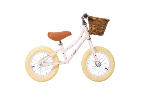 "Go First Push Bike 12"" BONTON X BANWOOD - Pink"