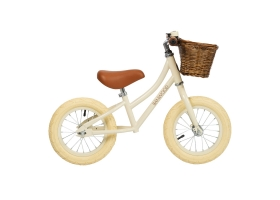 "Go First Push Bike 12"" by Banwood - Cream"