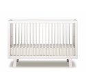 Baby Bed 70 x 140 cm - Sparrow bed white by OEUF NYC
