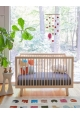 Baby Bed 70 x 140 cm - Sparrow bed birch by OEUF NYC
