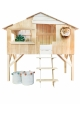 Cabine bed 90 x 190 cm by MATHY BY BOLS - Lime