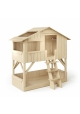 Treehouse Bunk bed 90 x 190 cm by MATHY BY BOLS - Limewood