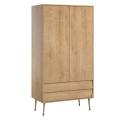 2-DOOR WARDROBE Bosque - Oak