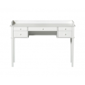 Seaside Junior Office Table - 62 cm By OLIVER FURNITURE - White