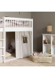 Seaside Low Cabinet with 10 rooms By OLIVER FURNITURE - White