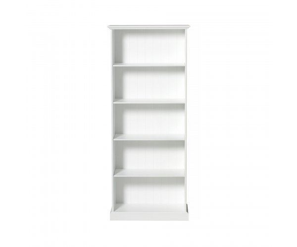 Seaside Shelving Unit High By OLIVER FURNITURE - White