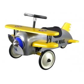 Toys - Protocol Silver Biplane