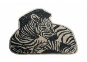 Zebra Carpet by BONTON