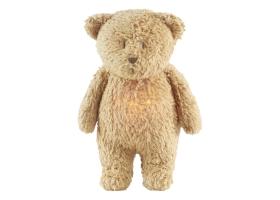 Moonie Musical Nightlight Teddy Bear Capuccinno