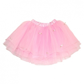 Costume girl ~Tutu - light pink with rose buds~
