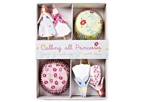 Princesse - Kit pour cupcakes