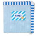 Blue Stripes ~Pack of 20 napkins~