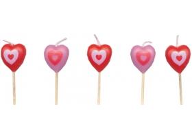 Bougies ~Set de bougies d'anniversaire Cupcakes~