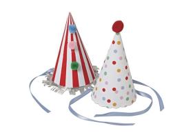 Cirque ~Set de 8 chapeaux~