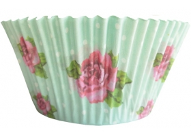 Vintage Rose ~Set de 50 caissettes à cupcakes~