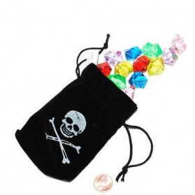 Pirate ~Pouch with jewels~