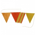 Garland ~Pennants - yellow ochre~