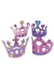 Activités Princesse ~Set de 4 couronnes en mousse à décorer~
